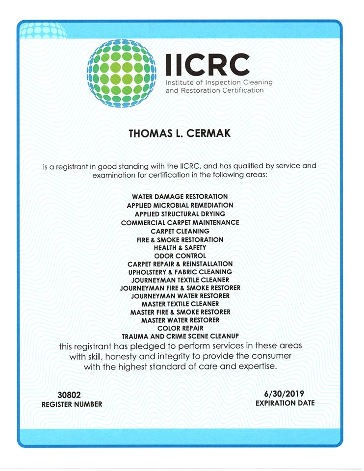 IICRC Certified Carpet Repair